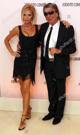 Victoria Beckham and Robert Cavalli