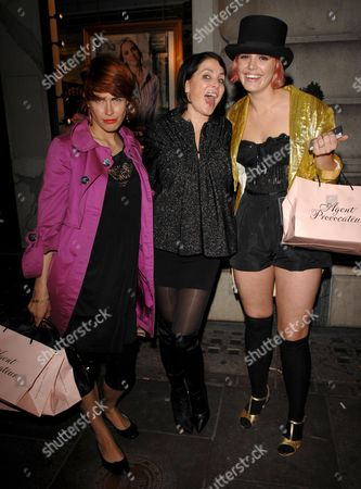 Editorial photo of Agent Provocateur party, Paper, London, Britain - 03 Oct 2007