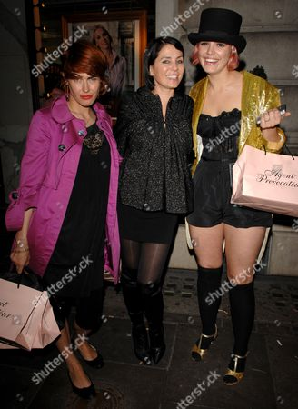 Sadie Frost and The Queens of Noize - Tabitha Denholm and Mairead Nash