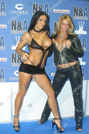 Lanny Barby and Savanna Samson