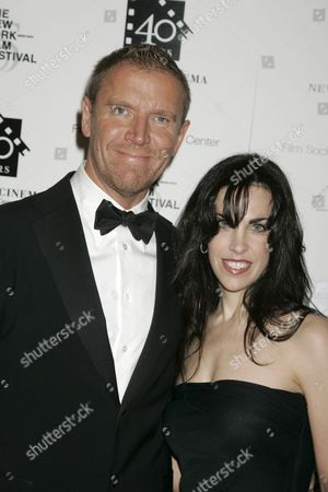 Stock Picture of Director Renny Harlin and Caprice Crane