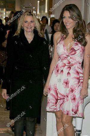 Elizabeth Hurley and Marisa Acocella Marchetto