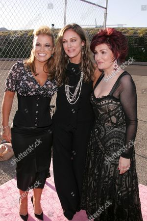 Anastacia, Peggy Fleming and Sharon Osbourne