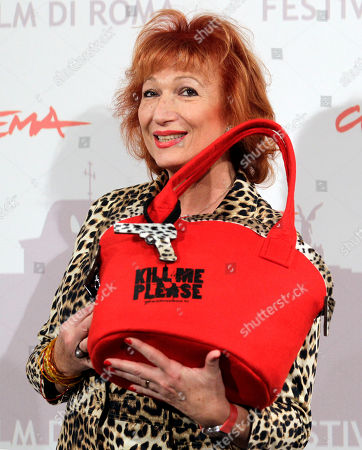 "Zazie de Paris poses for a photo call to present the movie ""Kill Me Please"" during the Rome Film Festival at Rome's Auditorium"