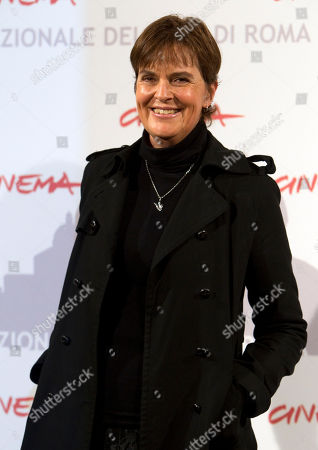 """Director Maria Novaro poses during the photo call of her movie """"Las Buenas Hierbas"""" during the Rome Film Festival at Rome's Auditorium"""