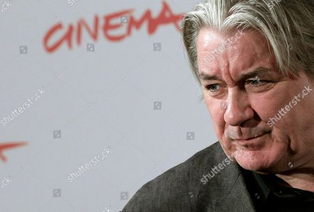 Patrick McGrath British writer Patrick McGrath poses for a photo call during the opening day of the Rome Film Festival at Rome's Auditorium, . McGrath is a member of the Festival's international jury