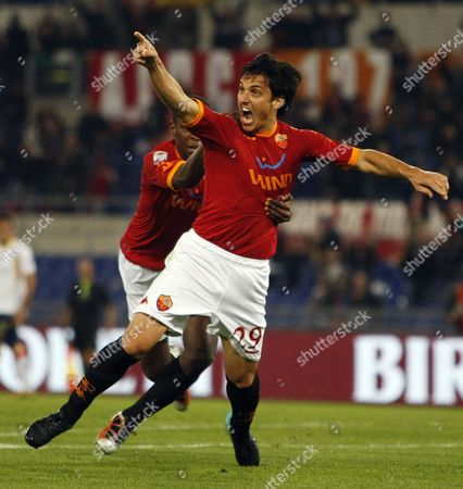 Editorial image of Italy Soccer Serie A, Rome, Italy