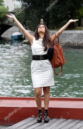 Yasmine Elmasri Actress Yasmine Elmasri at the 67th edition of the Venice Film Festival in Venice, Italy