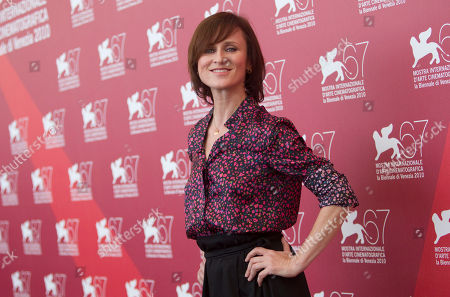Sophie Rois Actress Sophie Rois poses at the photo call for the film Drei at the 67th edition of the Venice Film Festival in Venice, Italy