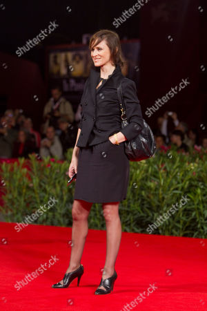Sophie Rois Actress Sophie Rois arrives for the screening of the film Drei at the 67th edition of the Venice Film Festival in Venice, Italy
