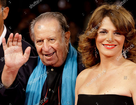 Tinto Brass, Caterina Varzi Director Tinto Brass and Caterina Varzi arrive for the screening of the film La Passione at the 67th edition of the Venice Film Festival in Venice, Italy