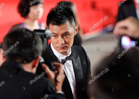 Shawn Yue Actor Shawn Yue arrives for the screening of the movie Jingwu Fengyun Chen Zhen (The legend of the fist: The return of Chen Zhen) at the 67th edition of the Venice Film Festival in Venice, Italy