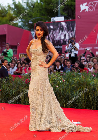 Yasmine Elmasri Actress Yasmine Elmasri arrives for the screening of the movie Miral at the 67th edition of the Venice Film Festival in Venice, Italy
