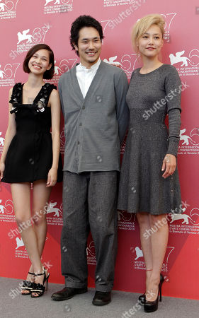 Kiko Mizuhara Kenichi Matsuyama Rinko Kikuchi Actors Editorial Stock Photo Stock Image Shutterstock