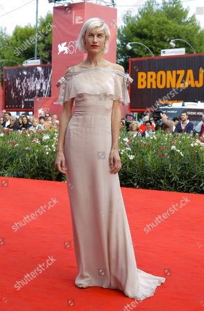 Delfine Bafort Actress Delfine Bafort arrives for the screening of the film Promises Written In Water at the 67th edition of the Venice Film Festival in Venice, Italy