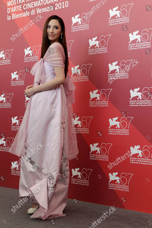 Angeles Woo Actress Angeles Woo poses at the photo call for the film Jianyu (Reign of Assassins) at the 67th edition of the Venice Film Festival in Venice, Italy