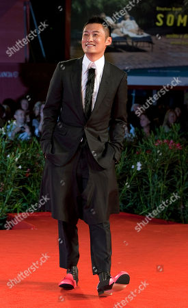 Shawn Yue Actor Shawn Yue arrives for the screening of the film Reign of Assassins at the 67th edition of the Venice Film Festival in Venice, Italy