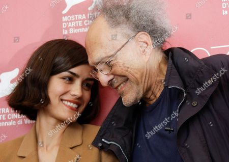 Monte Hellman, Shannyn Sossamon Actress Shannyn Sossamon and director Monte Hellman pose at the photo call for the film Road To Nowhere at the 67th edition of the Venice Film Festival in Venice, Italy