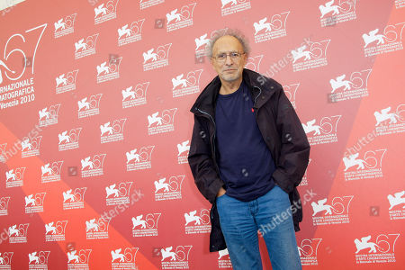Monte Hellman Director Monte Hellman poses at the photo call for the film Road To Nowhere at the 67th edition of the Venice Film Festival in Venice, Italy