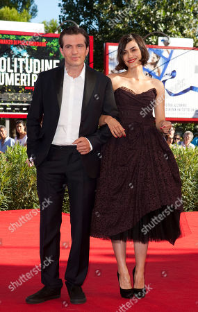Tygh Runyan, Shannyn Sossamon Actors Tygh Runyan and Shannyn Sossamon arrives for the screening of the film Road to Nowhere at the 67th edition of the Venice Film Festival in Venice, Italy