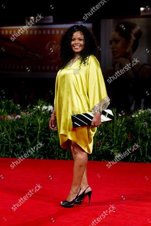 Editorial photo of Italy Venice Film Festival Venus Noire Red Carpet, Venice, Italy