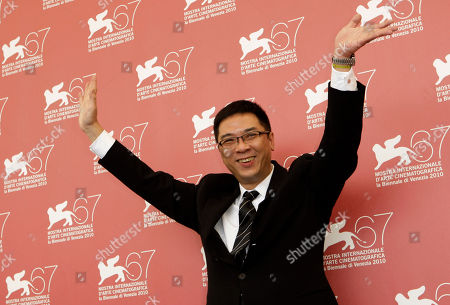 Stanley Kwan Director Stanley Kwan gestures at the photo call for the film Yong Xin Tiao (Showtime) at the 67th edition of the Venice Film Festival in Venice, Italy