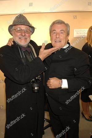 Barry Lategan and Terry O'Neill
