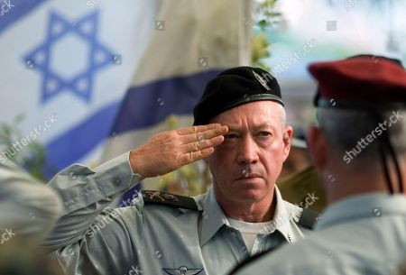 Yoav Galant Israeli Maj. Gen. Yoav Galant salutes during the funeral of former Maj. Gen Israel Tal in the military cemetery of Rehovot,central Israel, . The Israeli government approved the appointment of Galant as the new military commander. Galant will replace the current chief of staff, Lt. Gen. Gabi Ashkenazi, early next year