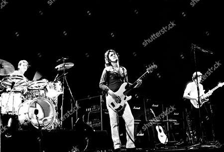 UK - Eddie Jobson, John Wetton and Terry Bozio at the Rainbow Theatre, London - 1979
