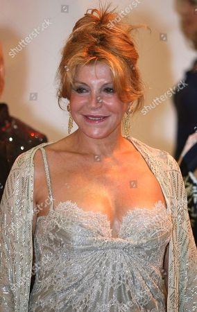 "Tita Cervera Spanish actress Tita Cervera arrives at the ""Red Cross Gala"", in Monaco"