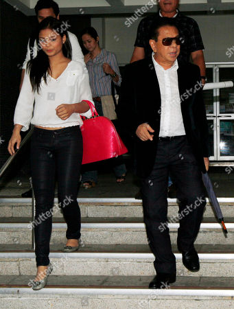 "Luis ""Chavit"" Singson, Lovi Poe Ronald Singson's father, Governor of Ilocos Sur Luis ""Chavit"" Singson, right, and his son's girl friend, Philippine actress-singer Lovi Poe leave a court in Hong Kong . A Hong Kong court Thursday granted bail to a Philippine legislator and son of a prominent politician after he spent more than a month in police custody on drug charges. Hong Kong airport authorities arrested Philippine Rep. Ronald Singson, 41, on July 11 on suspicion of trafficking in cocaine after a flight from Manila"
