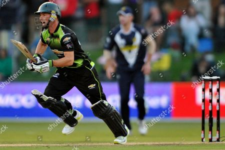 David Jacobs Warriors David Jacobs runs during their Champions League Cricket match against Victoria in Port Elizabeth, South Africa
