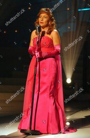 'Celebrity Stars In Their Eyes' TV - 2005 - Tracey Wilkinson as Julie London.