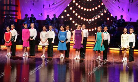 'Baby Ballroom'  TV - 2007 - Picture Shows: Rebecca Scott and Jordan Maguire, Ayesha Chan and Elliot Murray Flint, Amy Bryce and Oliver Ramsey, Phoebe Ross and Chris Colebrook, Courtney O'Connor and Toby Lee, Charlotte Plant and Luke Miller, Elena Lewis and Lloyd Perry.