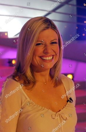 Stock Picture of 'Stars In Their Eyes' Soap Star Special  TV - 2004 - Emmerdale's Emily Symons  before performing as Rosemary Clooney.
