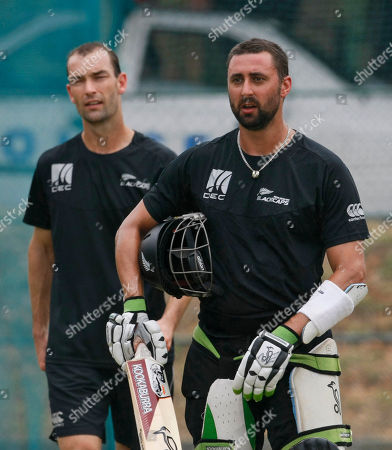 Peter Ingram New Zealand cricketers Peter Ingram, right, and Andy McKay look on during a practice session in Dambulla, Sri Lanka