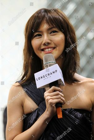 Stefanie Sun Singapore pop star Stefanie Sun comments with media during French luxury goods company Longchamp's opening of the Taiwan flagship store in the Taipei 101 building in Taipei, Taiwan