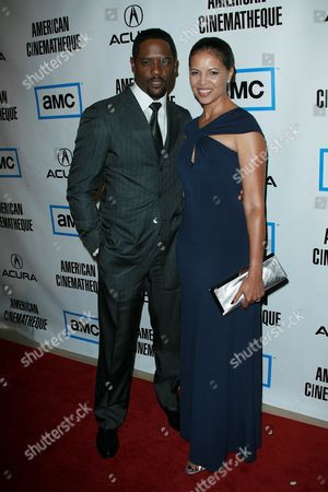 Blair Underwood and Desiree DaCosta
