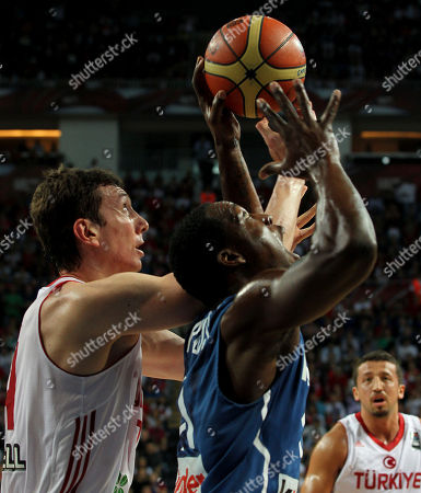 Editorial picture of Turkey France Basketball Worlds, Istanbul, Turkey