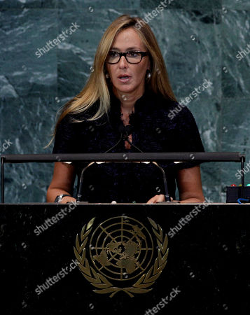 Stefania Prestigiacomo Stefania Prestigiacomo, Minister for the Environment of Italy, addresses the summit on sustainable development of small island developing states in the United Nations General Assembly