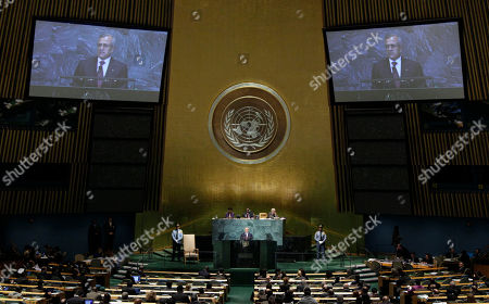 Editorial picture of UN General Assembly Lebanon, Xun
