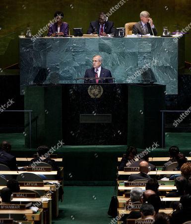 Editorial image of UN General Assembly Lebanon, Xun