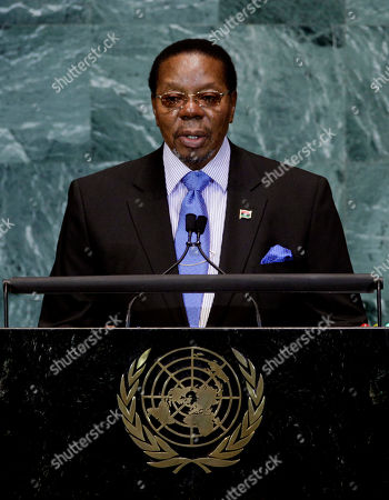 Bingu Wa Mutharika Bingu Wa Mutharika, President of Malawi, addresses the 65th session of the United Nations General Assembly, at United Nations headquarters