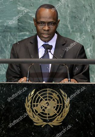 Salou Djibo President of Niger Salou Djibo, addresses the 65th session of the United Nations General Assembly at U.N. headquarters