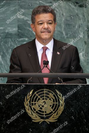 Leonel Fernandez Reyna Dominican Republic President Leonel Fernandez addresses the 65th session of the United Nations General Assembly at U.N. headquarters