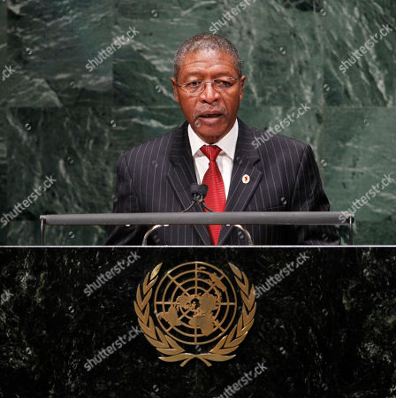 Pakalitha Bethuel Mosisili Prime Minister Pakalitha Mosisili of Lesotho addresses the 65th session of the United Nations General Assembly at U.N. headquarters