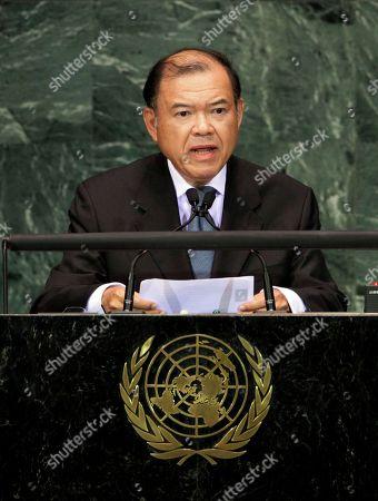 Editorial photo of UN World Summit, Xun