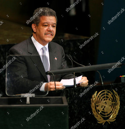 Leonel Fernandez Reyna President of the Dominican Republic Leonel Fernandez speaks at United Nations Headquarters