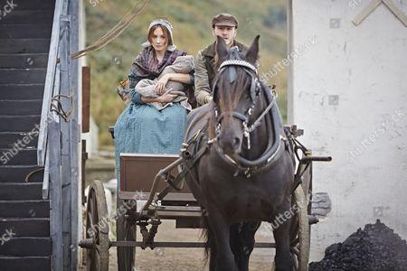 Joanne Froggatt as Mary Ann and Tom Varey as Billy Mowbray