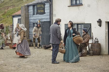 Joanne Froggatt as Mary Ann and Jonas Armstrong as Joe Nattrass